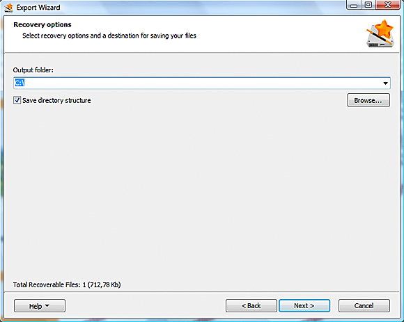 How to recover lost data with Disk Recovery Wizard