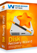 Disk Recovery Wizard Box